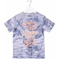 Odjeća Djeca Majice kratkih rukava Losan 813-1023AA Plava