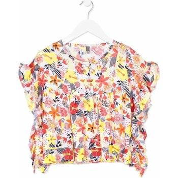 Odjeća Djevojčica Košulje i bluze Losan 814-3003AB Naranča