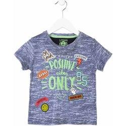Odjeća Djeca Majice kratkih rukava Losan 815-1017AC Plava