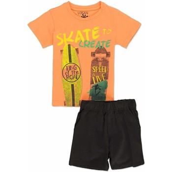 Odjeća Dječak  Dječji kompleti Losan 815-8046AC Naranča