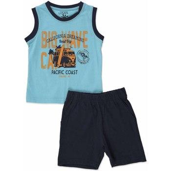 Odjeća Dječak  Dječji kompleti Losan 815-8640AC Plava