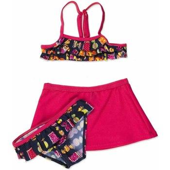Odjeća Djevojčica Dvodijelni kupaći kostimi Losan 816-4011AD Ružičasta