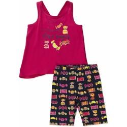 Odjeća Djevojčica Dječji kompleti Losan 816-8044AD Ružičasta