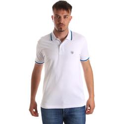 Odjeća Muškarci  Polo majice kratkih rukava Gaudi 911BU64033 Bijela