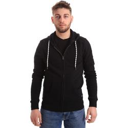 Odjeća Muškarci  Sportske majice Key Up 2F01I 0001 Crno