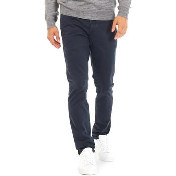 Odjeća Muškarci  Chino hlačei hlače mrkva kroja Gas 360702 Plava