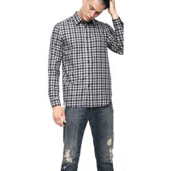 Odjeća Muškarci  Košulje dugih rukava Diesel 00SLNG 0TATG Crno