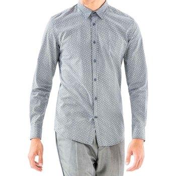 Odjeća Muškarci  Košulje dugih rukava Antony Morato MMSL00501 FA430345 Plava