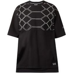 Odjeća Muškarci  Majice kratkih rukava Ea7 Emporio Armani 6ZPT43 PJQ0Z Crno