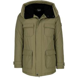 Odjeća Muškarci  Parke Emporio Armani EA7 6ZPK05 PNN5Z Zelena
