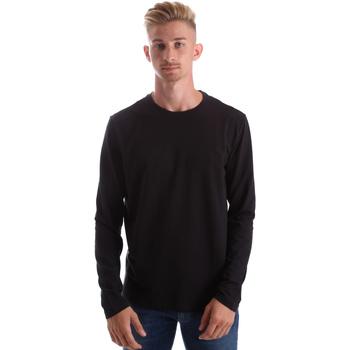Odjeća Muškarci  Majice dugih rukava Gas 300187 Crno