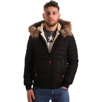 Odjeća Muškarci  Parke Gaudi 821BU35015 Crno