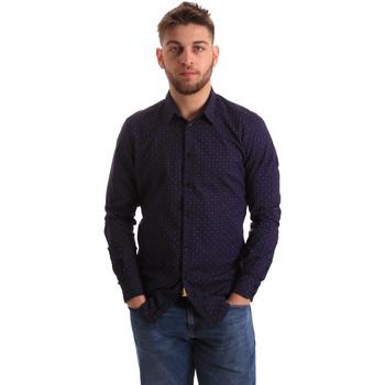 Odjeća Muškarci  Košulje dugih rukava Gaudi 821BU45012 Plava