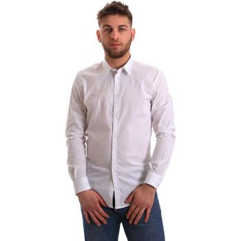 Odjeća Muškarci  Košulje dugih rukava Gaudi 821BU45014 Bijela