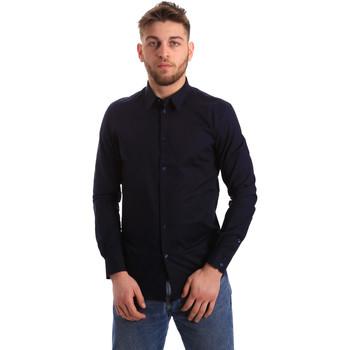 Odjeća Muškarci  Košulje dugih rukava Gaudi 821BU45014 Plava