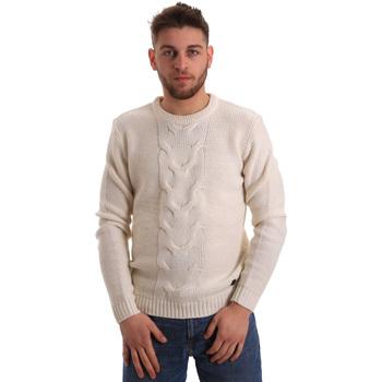 Odjeća Muškarci  Puloveri Gaudi 821BU53042 Bijela