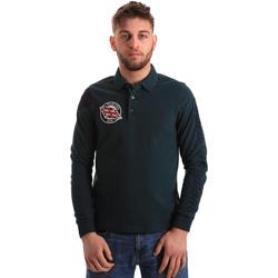 Odjeća Muškarci  Polo majice dugih rukava U.S Polo Assn. 50615 47773 Zelena