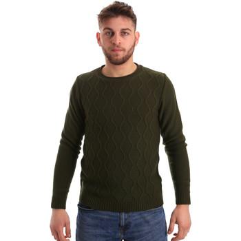 Odjeća Muškarci  Puloveri Bradano 155 Zelena