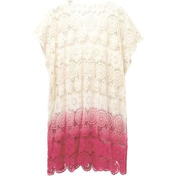 Odjeća Žene  Tunike Desigual 19SAWF53 Bijela