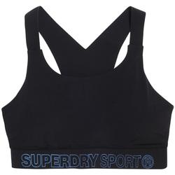 Odjeća Žene  Sportski grudnjaci Superdry GS3009AR Crno