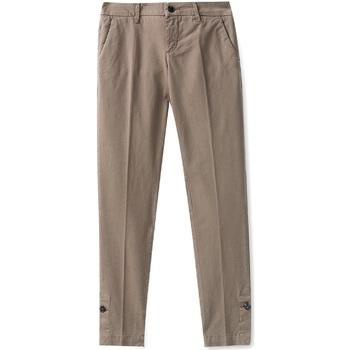 Odjeća Žene  Chino hlačei hlače mrkva kroja Liu Jo W68321T6468 Smeđa