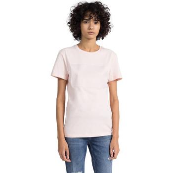 Odjeća Žene  Majice kratkih rukava Calvin Klein Jeans J20J207949 Ružičasta