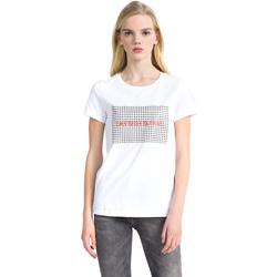 Odjeća Žene  Majice kratkih rukava Calvin Klein Jeans J20J207974 Bijela