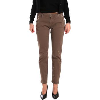 Odjeća Žene  Chino hlačei hlače mrkva kroja Gaudi 821BD25003 Smeđa