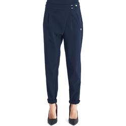 Odjeća Žene  Chino hlačei hlače mrkva kroja Gaudi 821BD25031 Plava