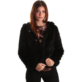 Odjeća Žene  Kratke jakne Gaudi 821FD39003 Crno