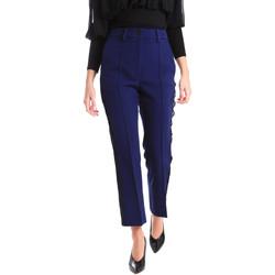 Odjeća Žene  Chino hlačei hlače mrkva kroja Denny Rose 821DD20001 Plava