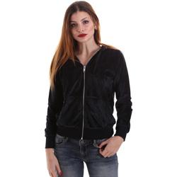 Odjeća Žene  Sportske majice Key Up 5CS57 0001 Crno