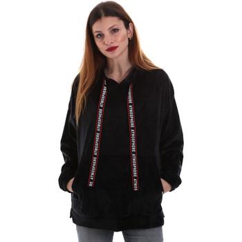 Odjeća Žene  Sportske majice Key Up 5CS91 0001 Crno