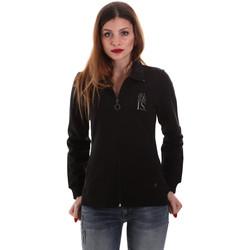 Odjeća Žene  Sportske majice Key Up 5EG20 0001 Crno