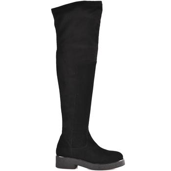 Obuća Žene  Čizme iznad koljena Mally 6311 Crno