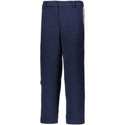 Odjeća Žene  Chino hlačei hlače mrkva kroja Tommy Hilfiger DW0DW05315 Plava
