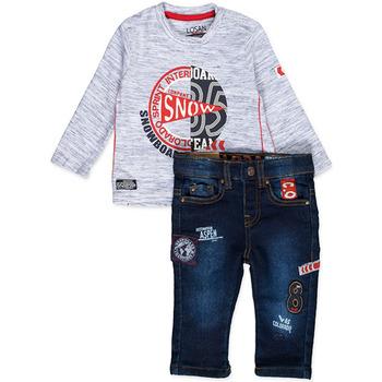Odjeća Dječak  Dječji kompleti Losan 827-8013AC Plava