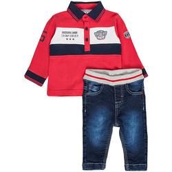 Odjeća Dječak  Dječji kompleti Losan 827-8032AC Crvena