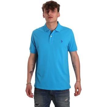 Odjeća Muškarci  Polo majice kratkih rukava U.S Polo Assn. 55957 41029 Plava