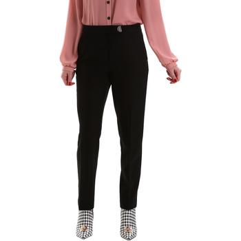 Odjeća Žene  Chino hlačei hlače mrkva kroja Gaudi 921FD25001 Crno