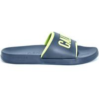 Obuća Muškarci  Sportske natikače Calvin Klein Jeans KM0KM00376 Plava