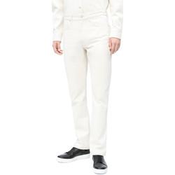 Odjeća Muškarci  Slim traperice Calvin Klein Jeans J30J310380 Bijela