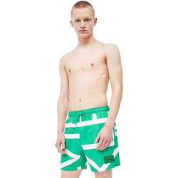 Odjeća Muškarci  Kupaći kostimi / Kupaće gaće Calvin Klein Jeans KM0KM00274 Zelena