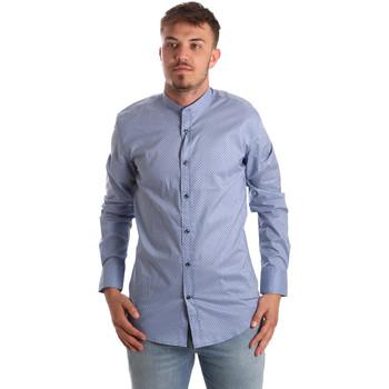 Odjeća Muškarci  Košulje dugih rukava Antony Morato MMSL00526 FA430086 Plava