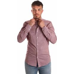 Odjeća Muškarci  Košulje dugih rukava Antony Morato MMSL00526 FA430360 Crvena