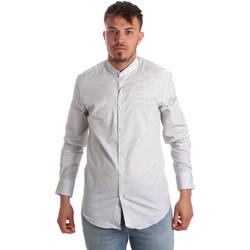 Odjeća Muškarci  Košulje dugih rukava Antony Morato MMSL00526 FA440024 Bijela