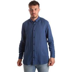 Odjeća Muškarci  Košulje dugih rukava Antony Morato MMSL00530 FA400051 Plava