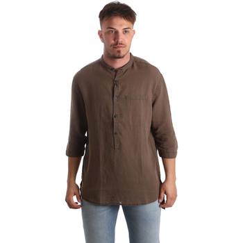 Odjeća Muškarci  Košulje dugih rukava Antony Morato MMSL00531 FA400051 Smeđa