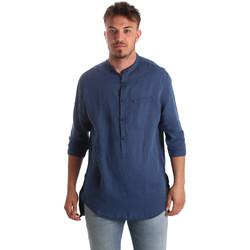 Odjeća Muškarci  Košulje dugih rukava Antony Morato MMSL00531 FA400051 Plava