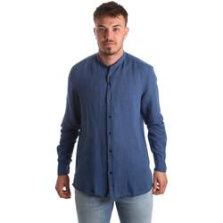 Odjeća Muškarci  Košulje dugih rukava Antony Morato MMSL00547 FA400051 Plava